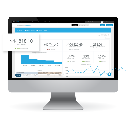 best reporting tools and free report builder in repairQ