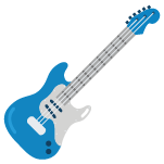 Icon of electric guitar
