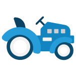 Icon of a lawnmower