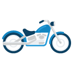 Icon of a motorcycle