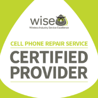 Cell phone repair service WISE certified