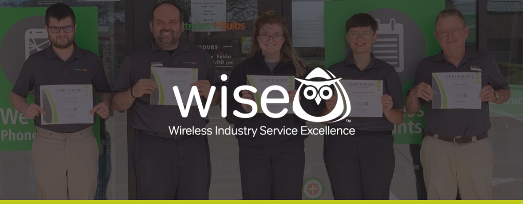 WISE cell phone repair certification