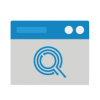 Web browser icon with Q logo